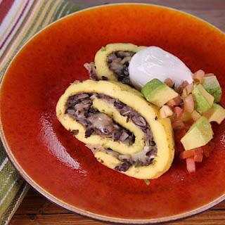 Southwestern Rolled Omelet