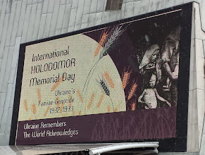 Photo: International Holodomor Memorial day at Federation Square, Melbourne