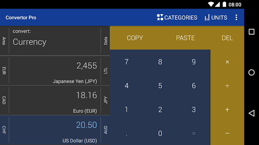 Open source Android currency converter - Software ...