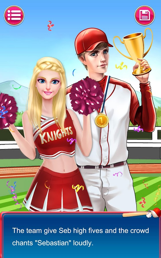 High school story dating app