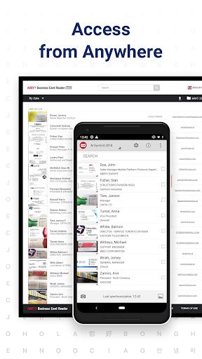 Business Card Reader - Business Card Scanner 4.25.1.2 screenshots 5