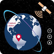 live earth map satellite view gps tracker
