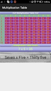 Digi Multiplication Table- screenshot thumbnail