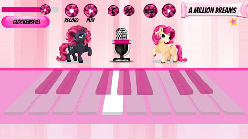 Girl Piano : Pink Piano android2mod screenshots 5