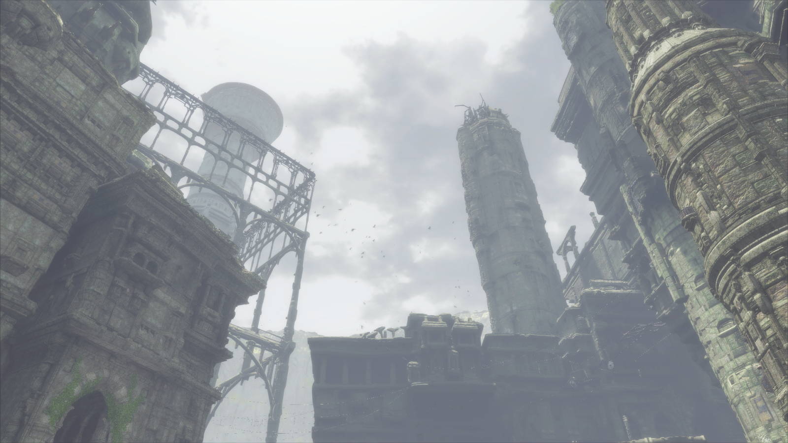 The Last Guardian's Sprawling Towers