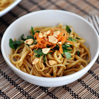 Super Simple Spicy Thai Noodles.