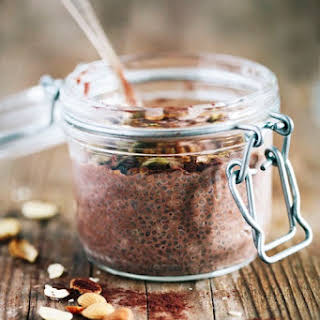 Cleansing Chocolate Chia Pudding.