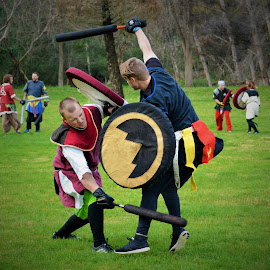 Fight! by D'Arcy Evans - Sports & Fitness Other Sports ( amtgard, sports, action, foamfighting, larp )