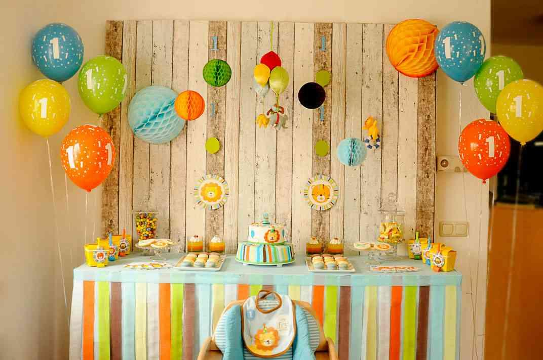 Birthday Decoration Ideas At Home For Baby Boy DIY