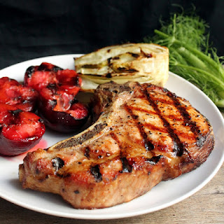 Perfect Grilled Pork Chops.