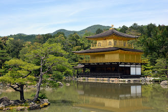 Photo: One of the most famous temples in Japan - all gold