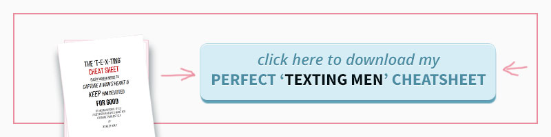 Click here to Download Texting Men Cheatsheet