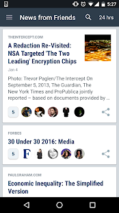Nuzzel: News for Busy Professionals Screenshot