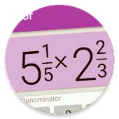 Fraction calculator that shows work