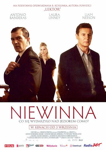 Przód ulotki filmu 'Niewinna'