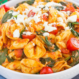 Spinach Cheese Tortellini Recipes