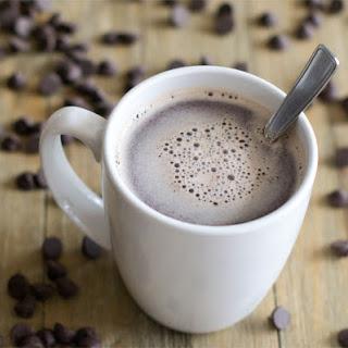 Easy Hot Chocolate using Real Chocolate.