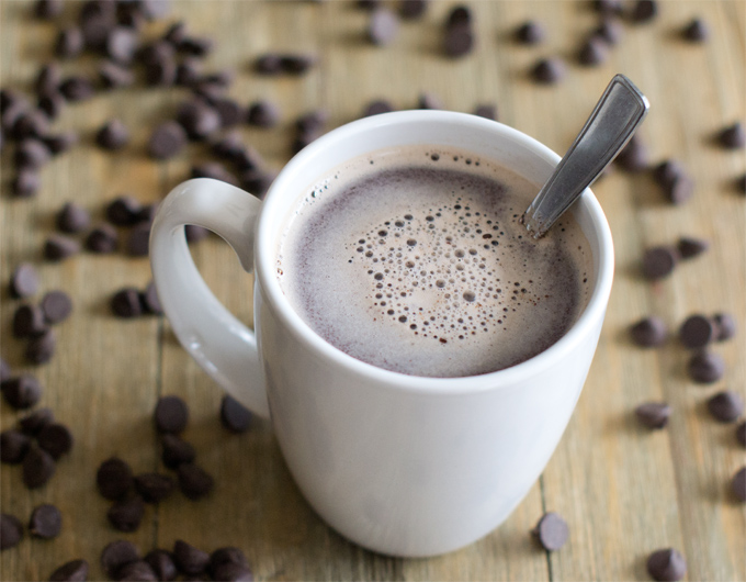 Easy Hot Chocolate Using Real Chocolate Recipe