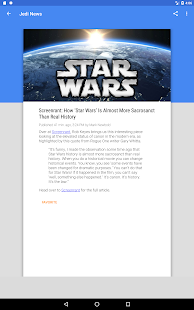 Jedi News- screenshot thumbnail