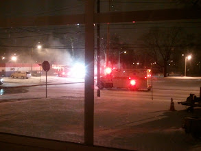 Photo: scene outside my window on the night of dec 12