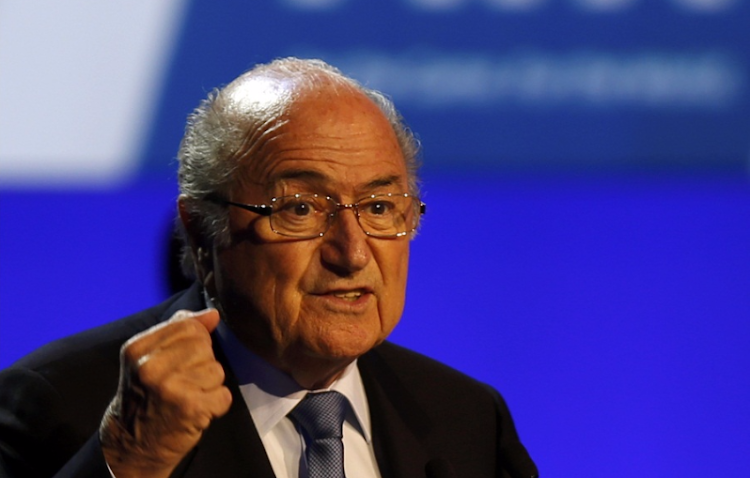 Sepp Blatter. Picture: REUTERS