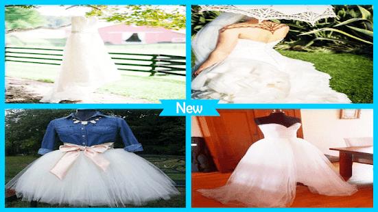 Pretty DIY Wedding Reception Dresses - náhled