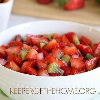Fresh Strawberry Salsa.