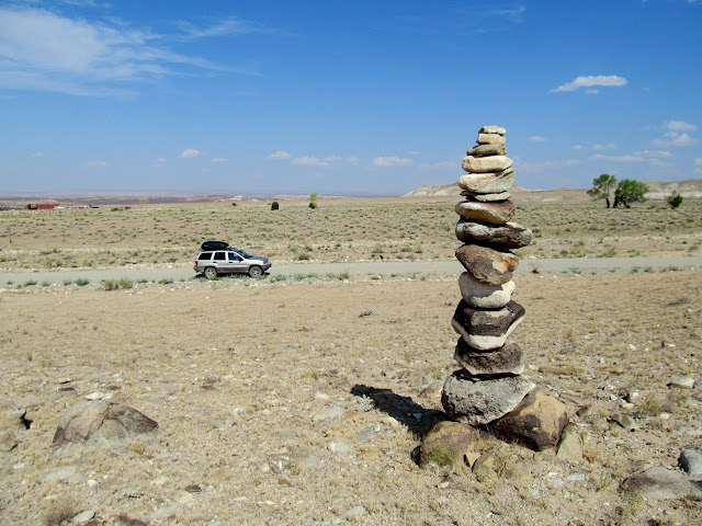 Cairn near Fairview Ranch