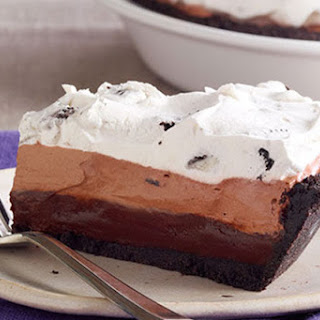 OREO Triple-Layer Chocolate Pie