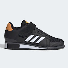 Adidas Power Perfect III, Black/White/Gold