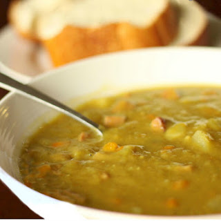 Crock Pot Split Pea Soup.