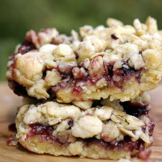 Oatmeal Raspberry Breakfast Bars.