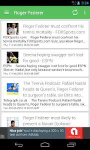 Tennis News Surge screenshot 4