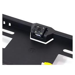 Camera video Night Vision marsarier pentru suport numar auto