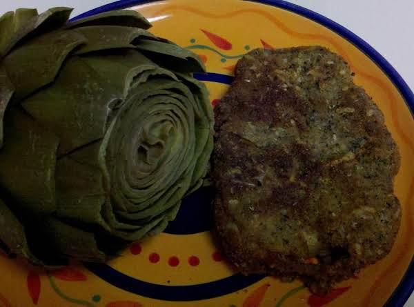 Parmesan Calamari Steaks