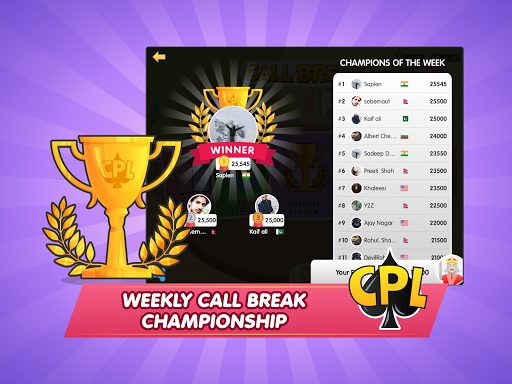 Call Break Premier League 1.0.78 screenshots 19