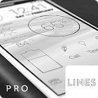 Lines Dark (Pro Version) icon