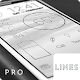 Lines Dark - Flat Black Icons v1.1.1