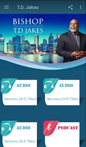 Download T D  Jakes - Sermons and Podcast APK latest version app for