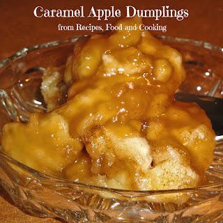 Aunt Shari's Caramel Apple Dumplings