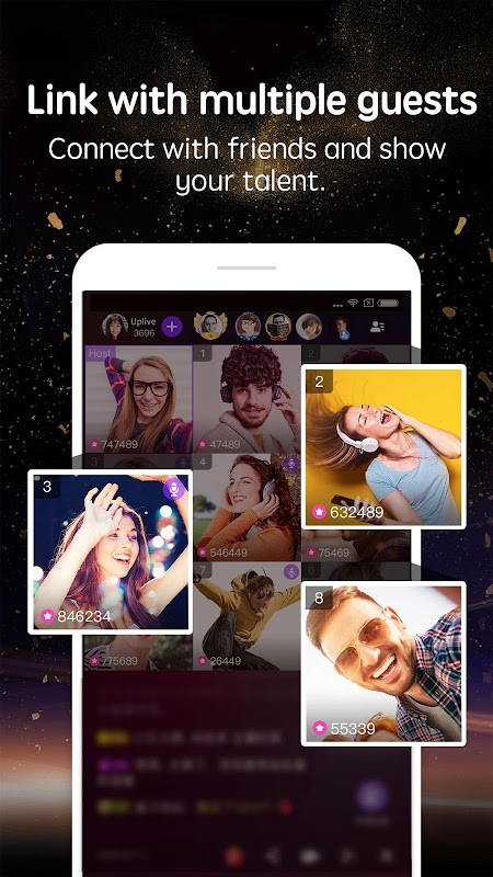 Uplive - Live Video Streaming App screenshots