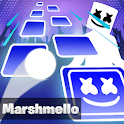Marshmello Tiles Hop - EDM Music Rush icon