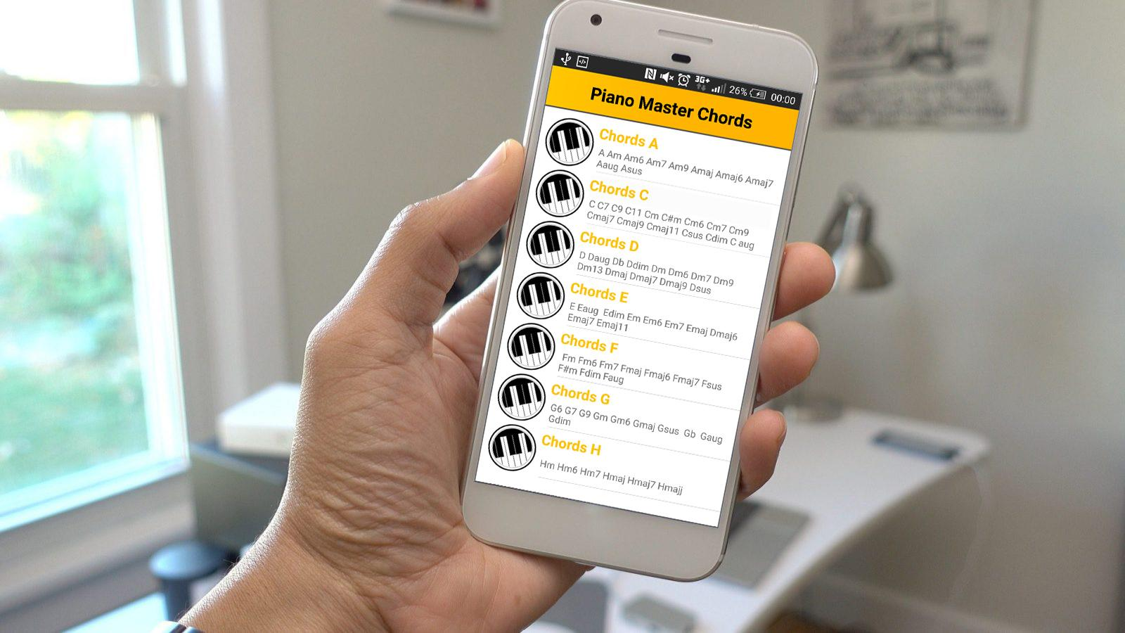 Piano master chords android apps on google play piano master chords screenshot hexwebz Image collections
