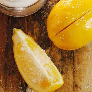 How To Make Preserved Lemons.