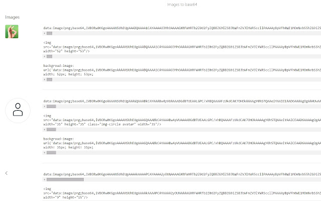 Images to base64