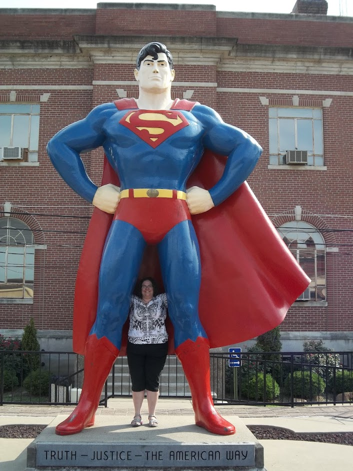 Jessie with Superman