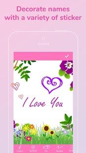 Name Art Maker Focus N Filter & Beautiful Text Art - náhled