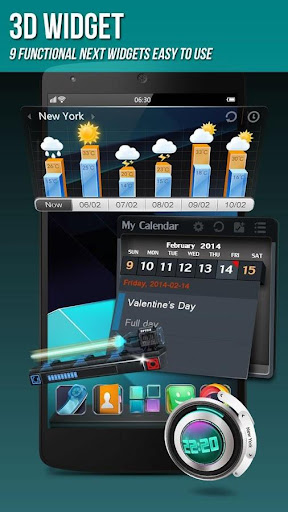 Next Launcher 3D Shell Lite screenshot 5