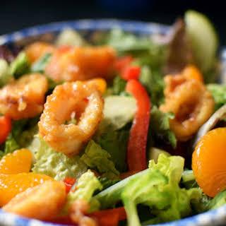 Sweet Chili Calamari Salad.