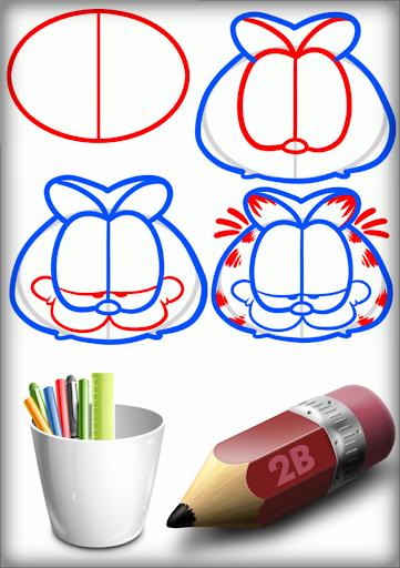 Sketch Garfield